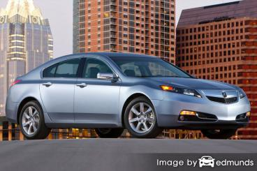 Discount Acura TL insurance