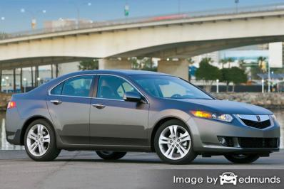 Discount Acura TSX insurance
