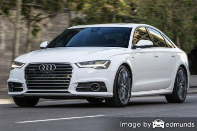 Insurance quote for Audi A6 in Columbus