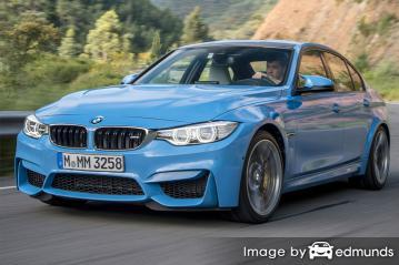 Insurance quote for BMW M3 in Columbus