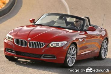 Insurance rates BMW Z4 in Columbus