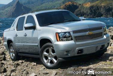 Insurance rates Chevy Avalanche in Columbus