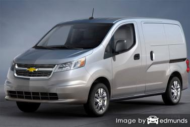 Insurance rates Chevy City Express in Columbus