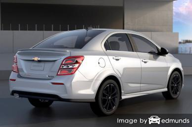 Insurance quote for Chevy Sonic in Columbus