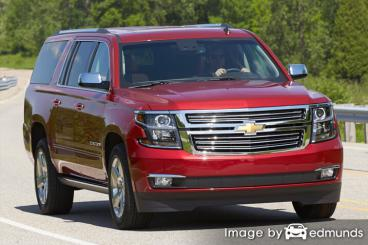 Insurance rates Chevy Suburban in Columbus