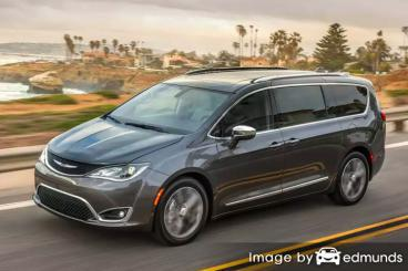 Insurance quote for Chrysler Pacifica in Columbus
