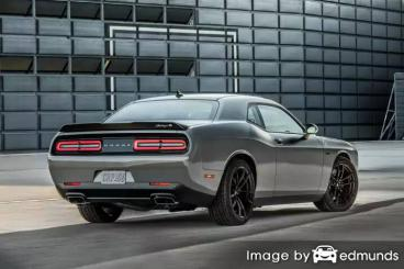 Insurance rates Dodge Challenger in Columbus