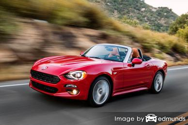 Insurance rates Fiat 124 Spider in Columbus