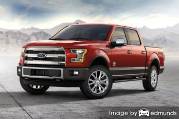 Insurance quote for Ford F-150 in Columbus