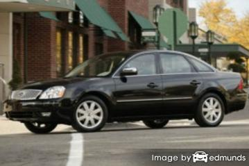 Insurance for Ford Five Hundred