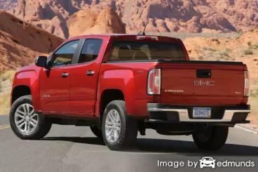 Discount GMC Canyon insurance