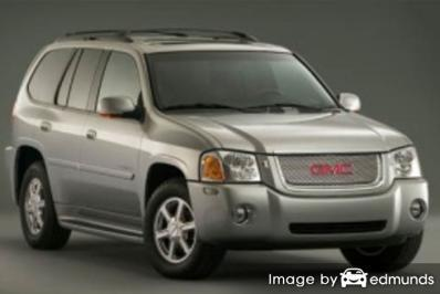 Insurance rates GMC Envoy in Columbus