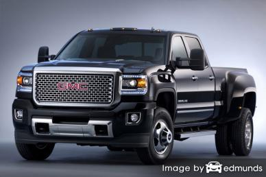 Discount GMC Sierra 3500HD insurance