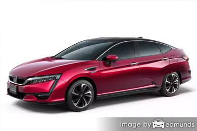 Insurance quote for Honda Clarity in Columbus