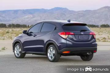 Discount Honda HR-V insurance