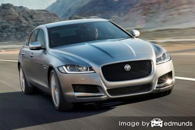 Insurance quote for Jaguar XF in Columbus