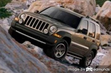 Insurance quote for Jeep Liberty in Columbus