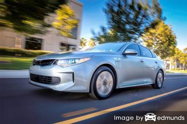 Insurance quote for Kia Optima Plug-In Hybrid in Columbus