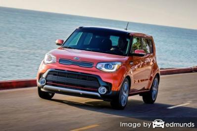 Insurance quote for Kia Soul in Columbus