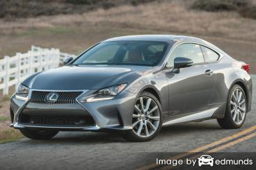 Insurance quote for Lexus RC 300 in Columbus
