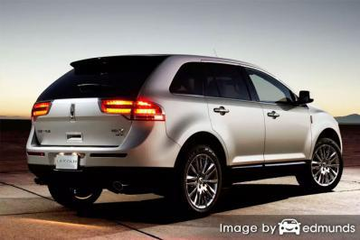 Insurance quote for Lincoln MKX in Columbus