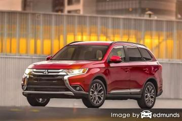 Insurance quote for Mitsubishi Outlander in Columbus