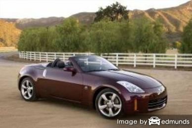 Insurance quote for Nissan 350Z in Columbus