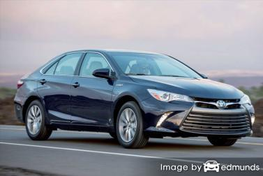 Insurance quote for Toyota Camry Hybrid in Columbus