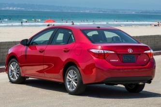 Insurance quote for Toyota Corolla in Columbus